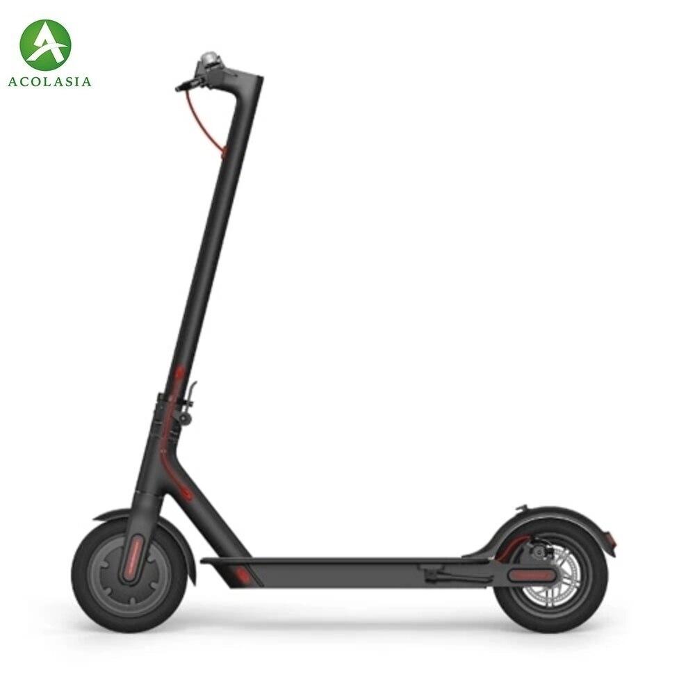 UE/RUElectric mi de scooter adulto/aluno mi ni portátil dobrável dois-wheeler branco cinza preto
