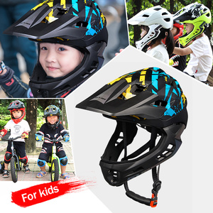 Image 5 - GUB FF Bicycle Helmet Children Balance Car Full Helmet Integrally molded Outdoor Cycling Accessories Men Bike Helmet 48 57cm