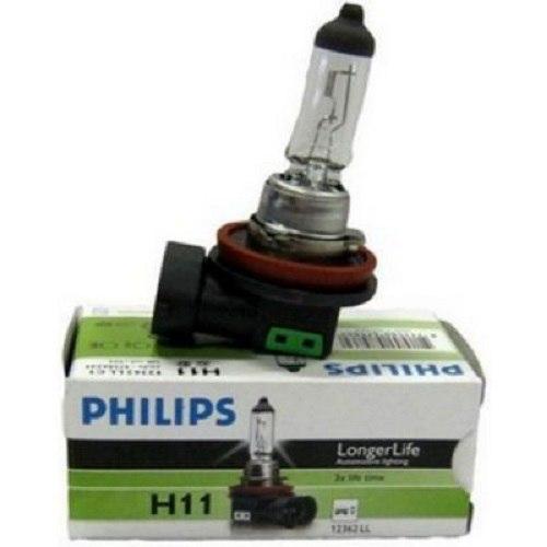 Lamp Philips LONG LIFE ECO VISION H11, 55, PGJ19-2, 12 V (12362LLECO) cawanerl 2 x 100w h11 car halogen fog light daytime running lamp drl 12v styling for renault espace 4 iv jk0 1 mpv 2003 2012