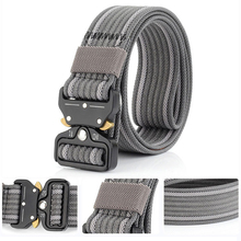 New Style Top-quality Tactical Military Belt Mens Outdoor Sports Thick Waist Support Safety Harness