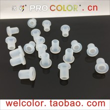T-shaped silicone rubber Hollow plug push in grommet single hole Motor Torque Bung Open hole OD 15/64
