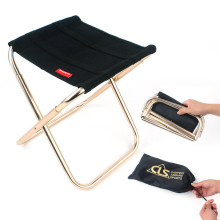 Портативный складной стул сад открытый ультра светильник рюкзак Кемпинг Пикник вечерние Ткань Оксфорд мини-стул с сумкой для хранения