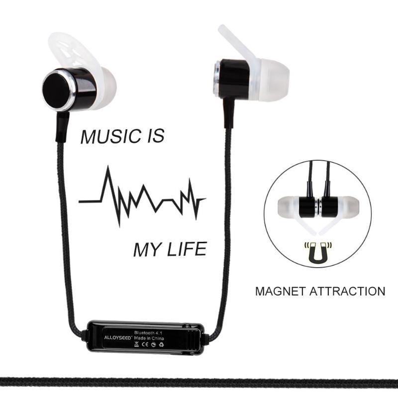 SM815 Wireless Bluetooth In-Ear Sports Earphone Headphones High Definition stereo Earpiece Earbuds for Mobile phone