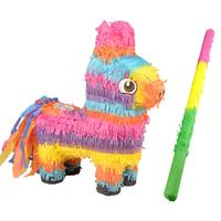 Donkey Pinata Kids Birthday Themed Party Supplies Decoration Game Candy Props Simulation Doll Festive Party Supplies