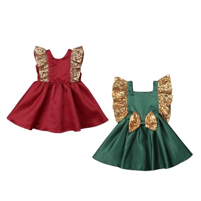 a75c44f8a Princess Kids Baby Girl Party Bowknot Tutu Dress Toddler Girls ...