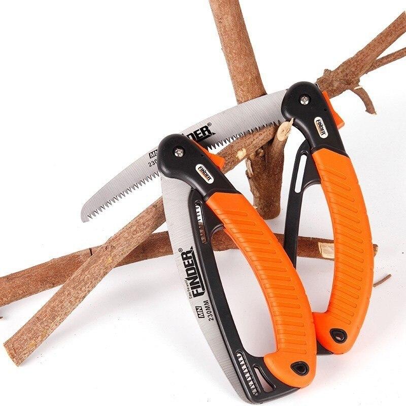 FINDER Gärten Folding Sah Falten Landwirtschaftliche Hand Werkzeug Schleifen 32 Zahn Handsäge Obst Baum Holzbearbeitung Carpenter Holz Cutter