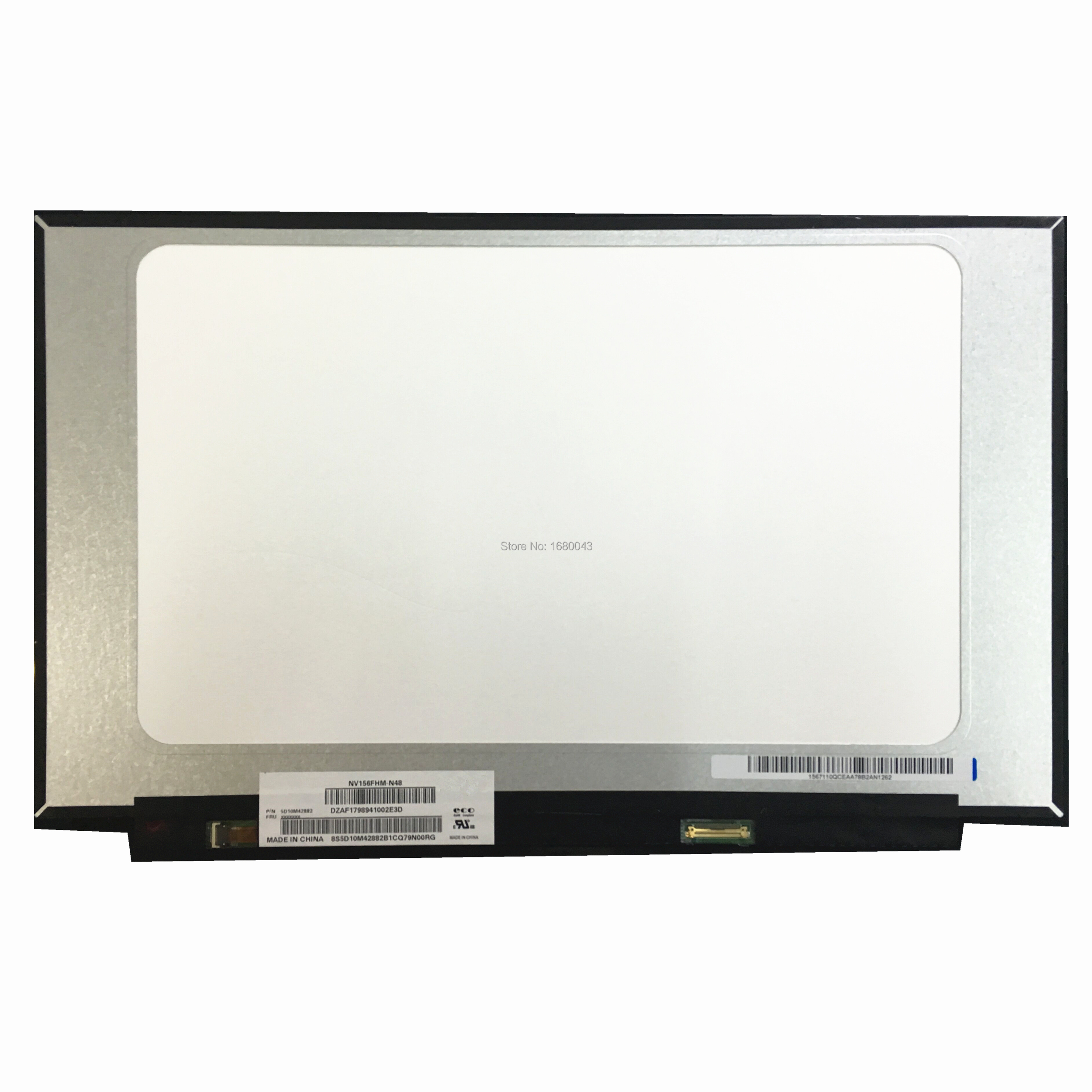NV156FHM-N48 Fit B156HAN02.2 B156HAN02.1 B156HAN02.4 EDP  B156HAN02.3 30 PIN Laptop LCD SCREEN PANEL With No Screw Holes