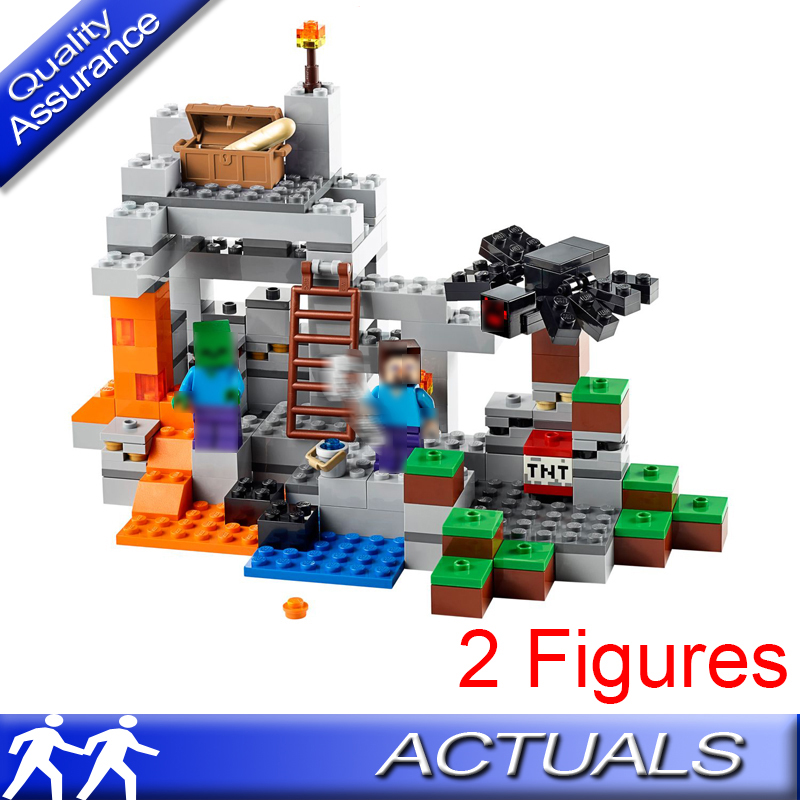 Model Building Building Blocks The End Portal 18002 469pcs Compatible With Lego My Worlds Minecraft 21124 Bricks Figures Toys For Children