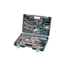 Набор ручного инструмента STELS 14104 (76 предметов из высококачественной стали, кейс в комплекте)