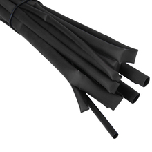 Mayitr 4pcs 1M 3/4/5/6mm Black Heat Shrink Tubing Tubes Diameter Adhesive Heatshrink  Tube Sleeving Wrap Wire