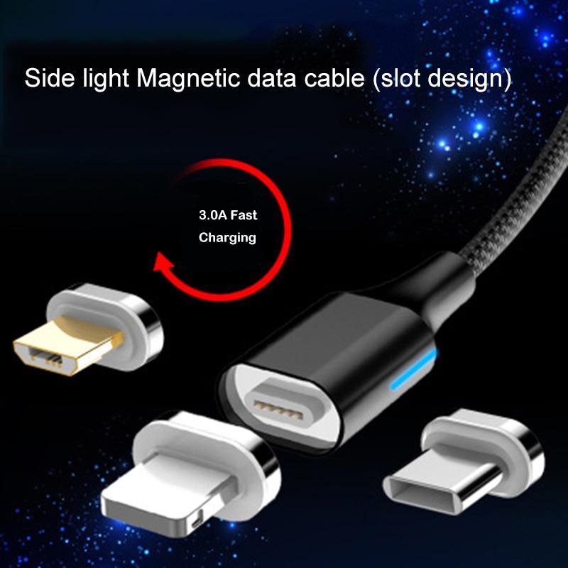 max Magnetische Kabel Schnelle Lade Usb Typ C Micro Usb Für Iphone X Xs Max Xr 8pin Magnet Ladegerät Kabel Daten Usb Linie Sync Husten Heilen Und Auswurf Erleichtern Und Heiserkeit Lindern FleißIg 3a