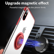 Case For iPhone 8 7 6 6s Plus Magnetic Ring Stand Car Holder TPU Cover Protective Full Phone Case For iPhone X XS MAX XR hat prince protective tpu case cover w stand for iphone 6 4 7 white