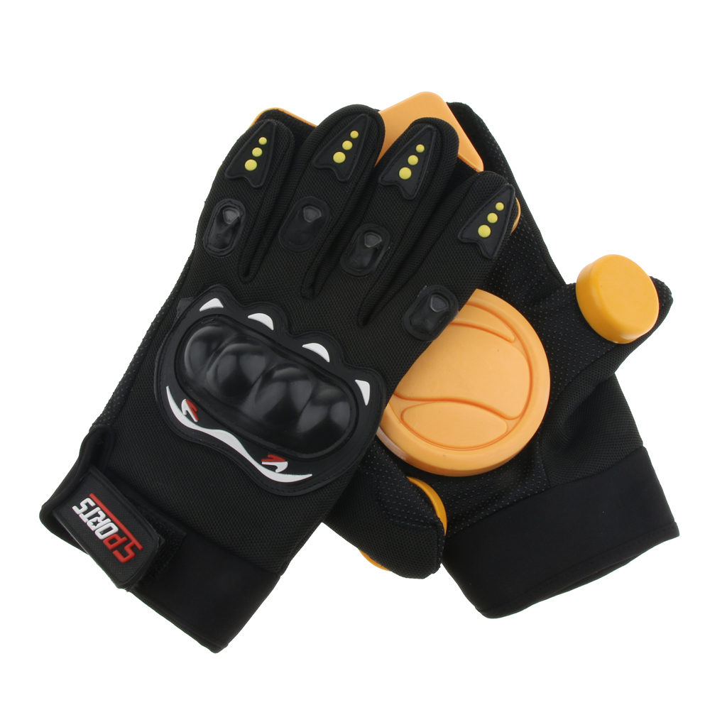 Skateboard Protective Gloves Standard Adult Longboard Downhill Slide Gloves Skate Gloves for Skate Skateboard Roller Skating in Scooter Parts Accessories from Sports Entertainment