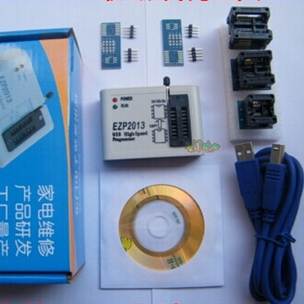 2018 Robo For Inteligente Optical Rotary Encoder Ezp2013 Usb Programmer Spi 24 25 93 Eeprom Flash Bios Chip + Software Socket