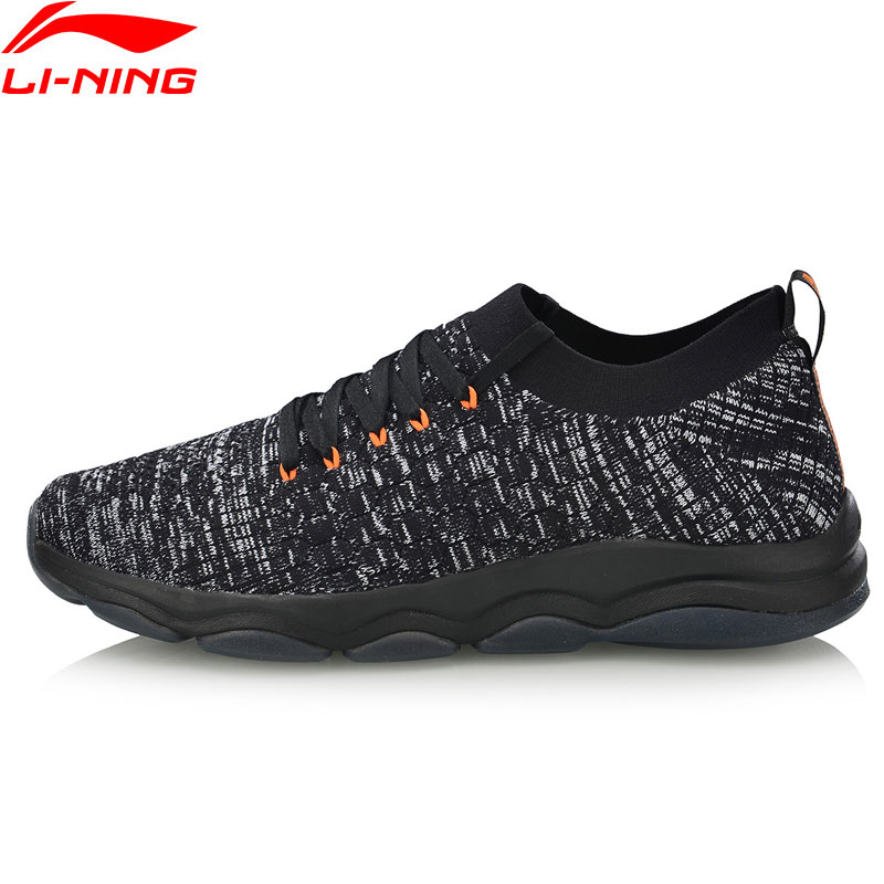 цена Li-Ning Men NO BOUNDARIES-LOW UPPER Cushion Training Shoes Mono Yarn Breathable LiNing Sneakers Sport Shoes AFJN023 YXX044