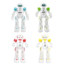 R11 R12 USB Charge RC Robot Model Toys Gestures Sing Dancing Robot Remote Control Toy Blue Birthday Xmas Gift Set for Children цена и фото