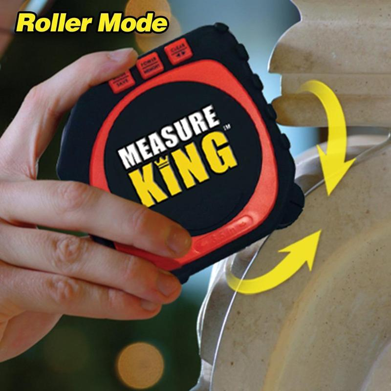 Hot Measure King 3 In 1 Digital LED Tape String Sonic Roller Mode Tool UK