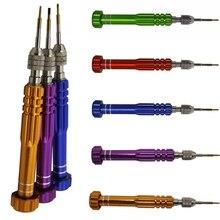NEW 5 in 1 Multi Function Manual Repair Open Tools Kit Screwdrivers For iPhone F