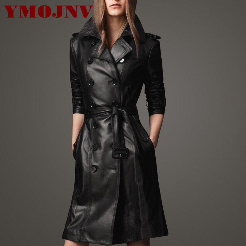 Leather   Jacket For Women 2019 Autumn Winter Woman   Leather   Coat Female Slim Plus Size S-4XL PU   Leather   Jackets Women's Outerwear