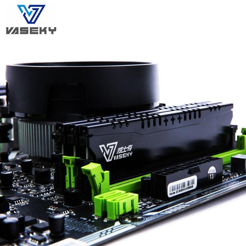 VASEKY DDR3 4G 1600Hz DDR4 8G 2400Hz ordinateur de bureau Mémoire PC Gaming Mémoire
