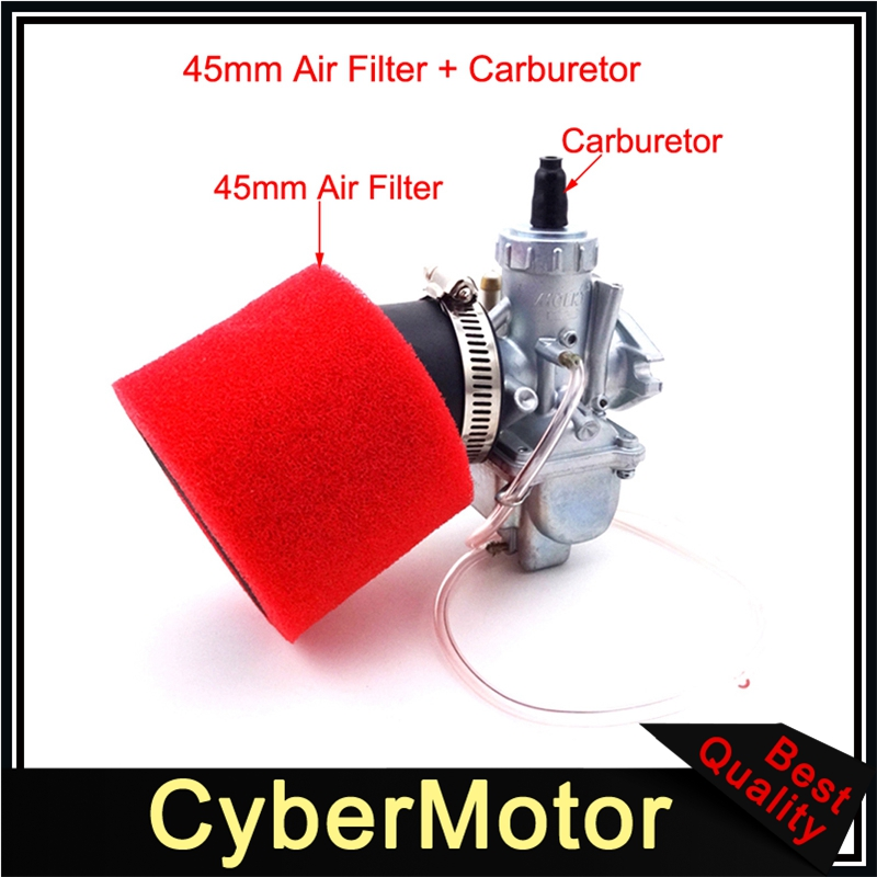 Molkt 26mm Carburetor Carb 45mm Air Filter For 140cc 150cc 160cc Engine Chinese Pit Dirt Bike