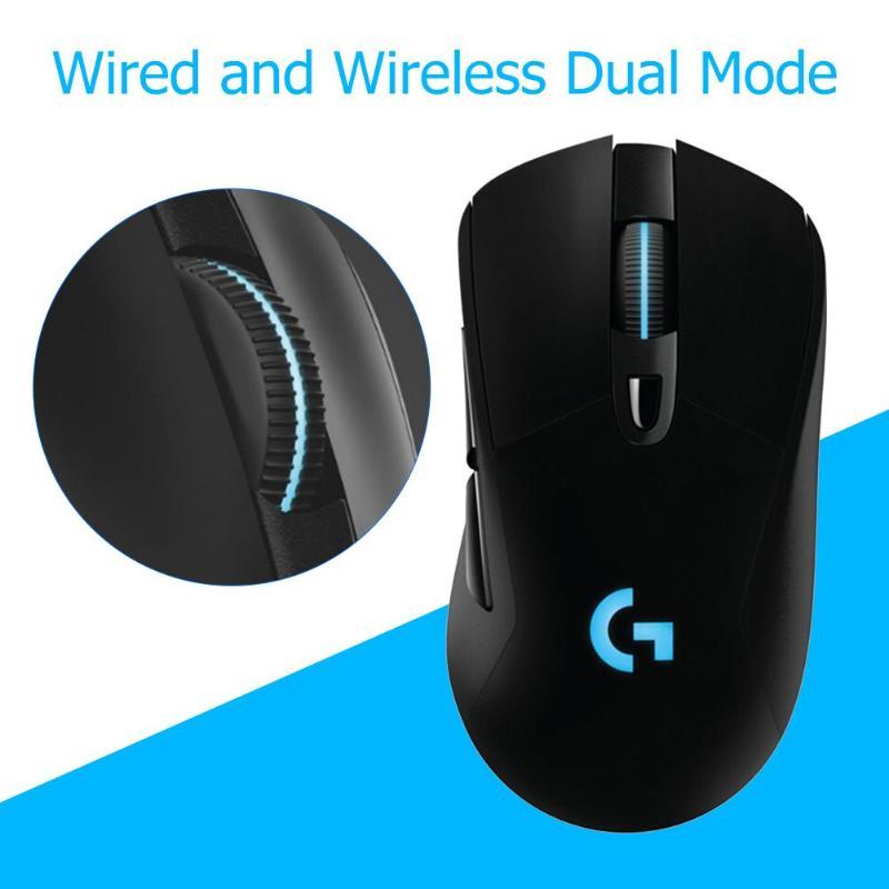 Souris de jeu sans fil Logitech G703 LIGHTSPEED souris de chargement PowerPlay souris 6 boutons programmables USB souris sans fil pour PC Gamer