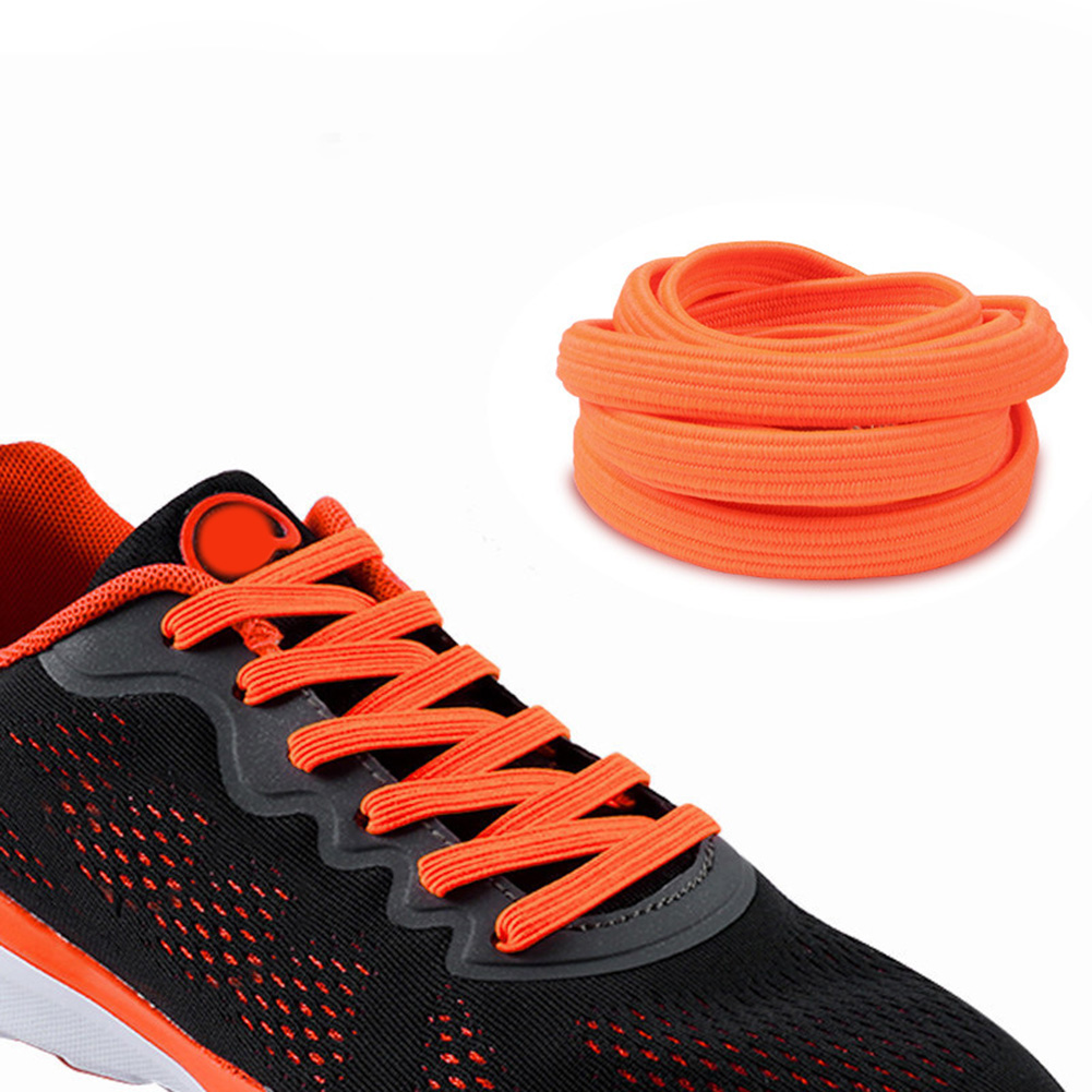все цены на 1pair 100CM Stretch Locking no tie lazy shoeLaces sneaker Elastic Rubber Shoe lace kids adults safe elastic shoelace