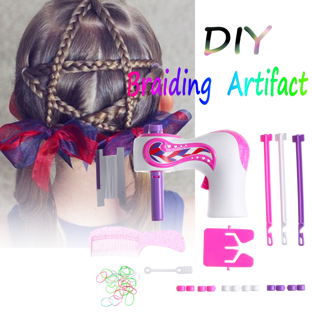 DIY Automatic Hair Braider