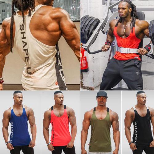Gym Men Bodybuilding Tank Top 3