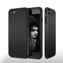 KISSCASE Leather Phone Case For Samsung Galaxy S10E S10 Plus Original Design Carbon Fiber Back Capinhas