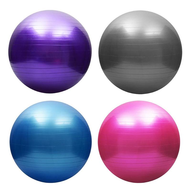 Sports Yoga Balls Bola Pilates Fitness Gym Balance Fitball Exercise Pilates Workout Massage Ball 55cmSports Yoga Balls Bola Pilates Fitness Gym Balance Fitball Exercise Pilates Workout Massage Ball 55cm