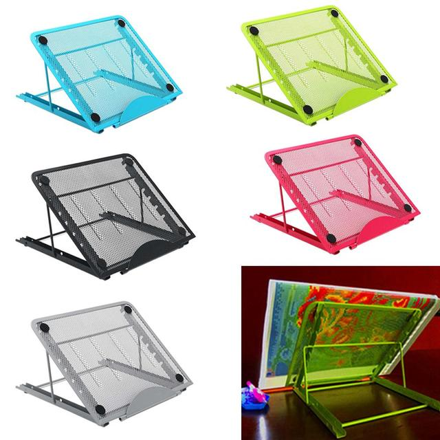 A4 Led Light Pad Box Tablet Board Metal Stand Diamond Painting Cross Stitch Accessories Tools Light Pad Holder Book Reading Rack