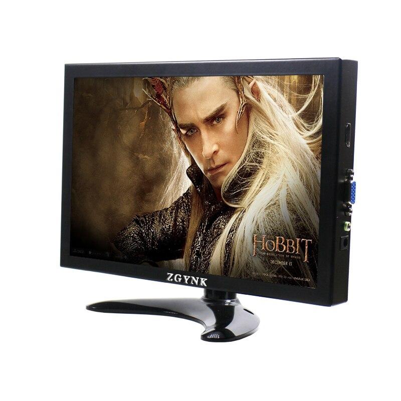 Moniteur LCD 10 pouces VGA HDMI HD moniteur d'ordinateur avec écran de jeu HDR