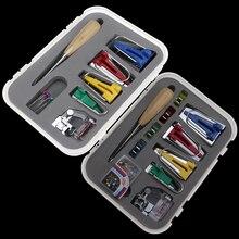 آلة أدوات ملزمة خياطة متعددة الوظائف الخياطة شريط حماية الأطراف صانع مجموعة DIY بها بنفسك خليط اللحف أداة