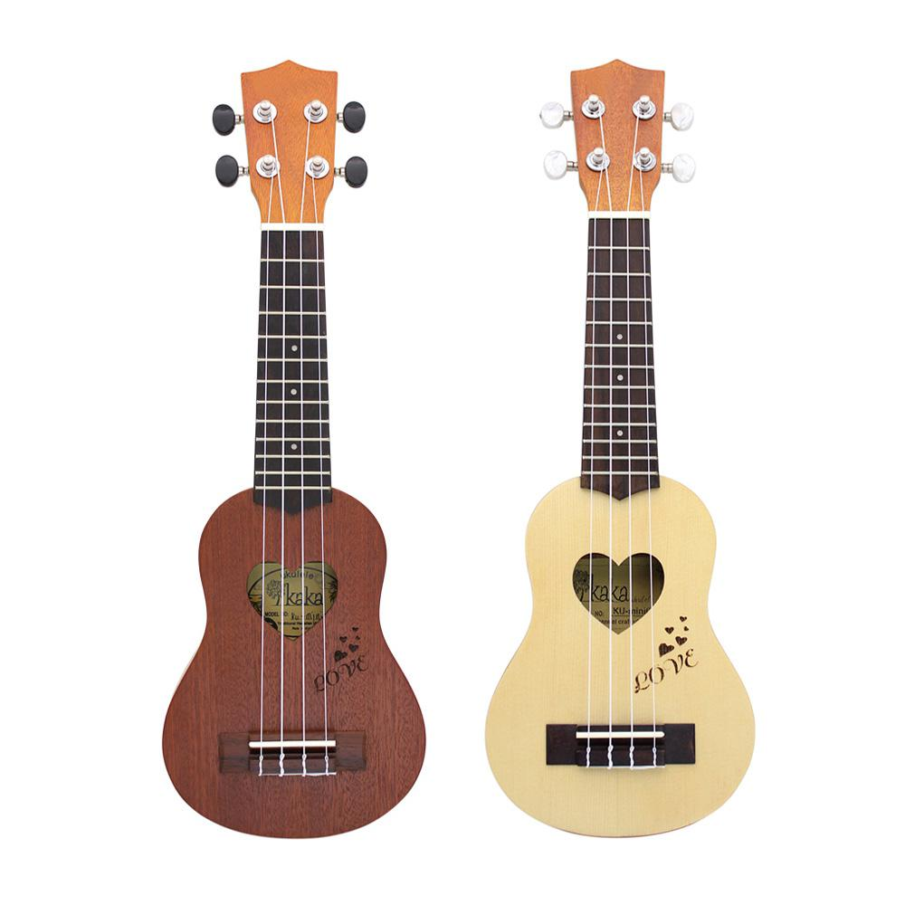 IRIN 17 pouces 12 frettes Sapele épicéa ukulélé guitare 4 cordes hawaïenne guitare Instruments de musique avec sac pour débutants cadeau - 6