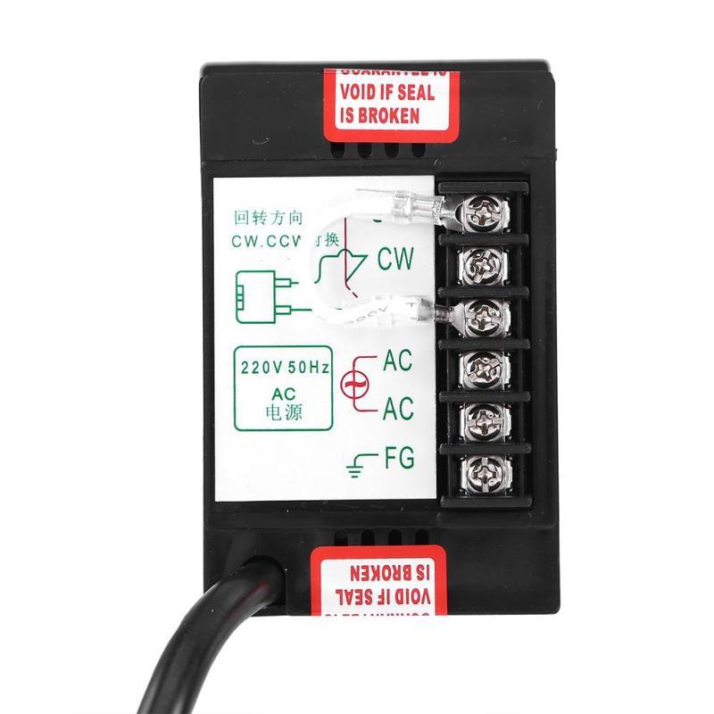 1Pc Motor Speed Controller Punkt Regler Controller Vorwärts und Rückwärts AC Geregelte Geschwindigkeit Motor Controller 400W AC 220V