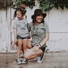 Одинаковая одежда для семьи Одежда для мамы и меня одежда для мамы и дочки летняя футболка с короткими рукавами для девочек и женщин