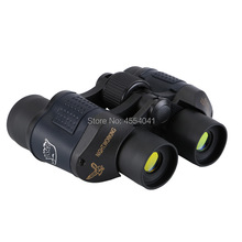 60×60 Binocular Night Vision Binocular High Resolution Green Film Telescope with Compass Upgraded Edition
