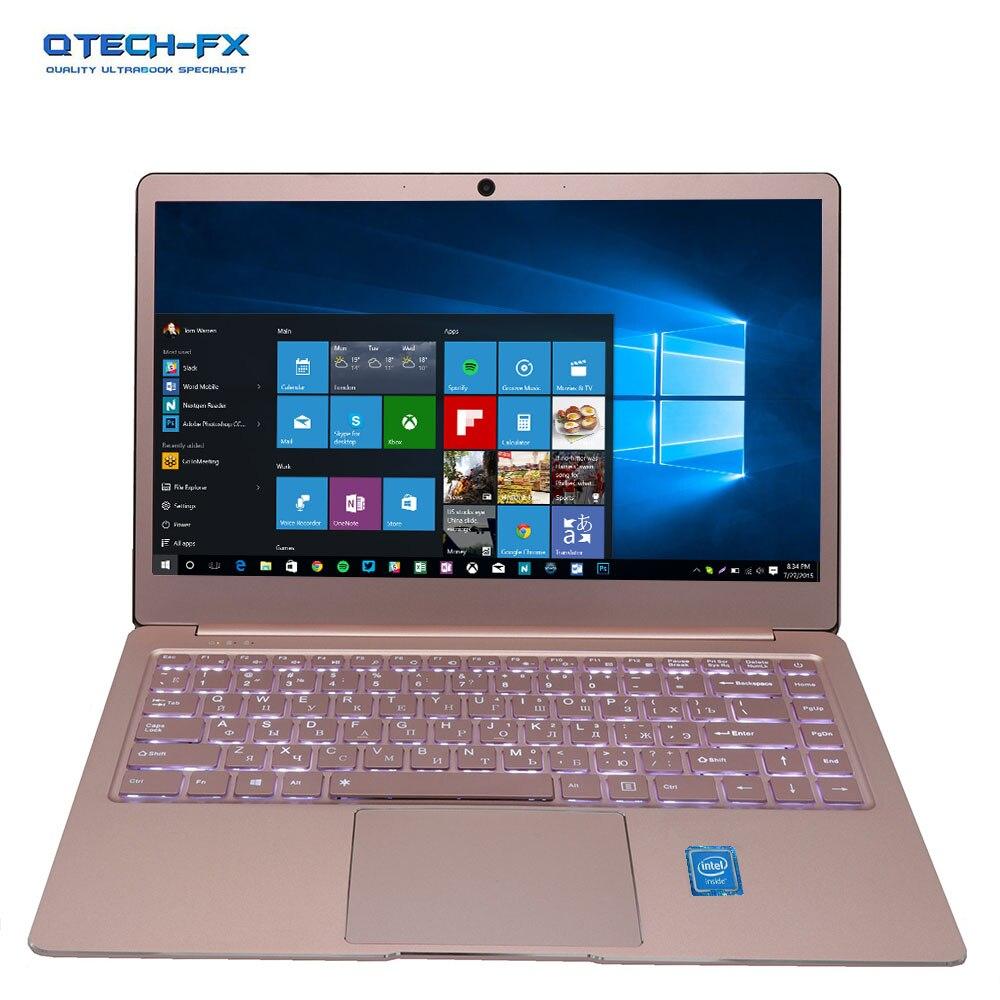 Metal Ultrabook Ssd 256gb 64gb 512g Cpu Intel Windows10 Student Office Laptop Arabic French Spanish Russian Keyboard Backlit #6