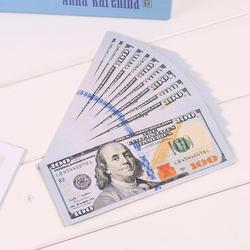 20Pcs Funny One Hundred Dollar Toilet Roll Paper Money 2 Types  Novel Gift Creative Cash Bills Toilet Papers Roll  Random Types