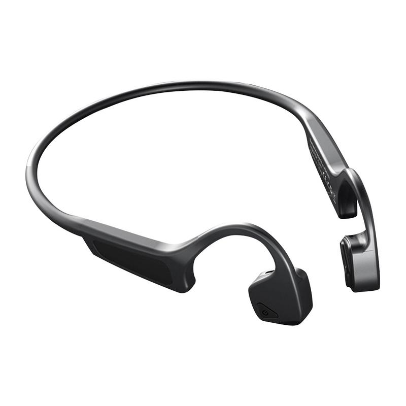 Casque sans fil Bluetooth casque à Conduction osseuse sport Double écouteurs intelligents à réduction de bruit avec Micphone