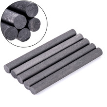 5pcs 99.9% Graphite Rods Welding Electrode Cylinder Rod Bars Carbon Rod Machine Tools for Spot Welding Industry Metallurgy Tools