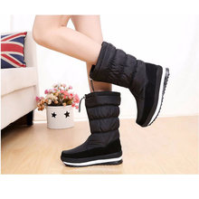 GOGC Russian Famous Brand Winter Boots for Women High Quality Women Winter Shoes Female Snow Boots Comfortable Women Shoes 9612(China)