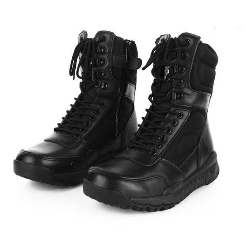 Men Women Outdoor Hiking Ultra Light High Shoes Boot Army Fan Hunting Climbing Military Training Combat