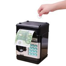 Elektronik kumbara ATM şifre para kutusu nakit para tasarrufu kutusu ATM banka kasa çocuklar için çocuklar için doğum günü hediyesi