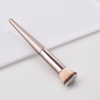 Luxury Champagne Makeup Brushes Set For Foundation Powder Blush Eyeshadow Concealer Lip Eye Make Up Brush Cosmetics Beauty Tools 5