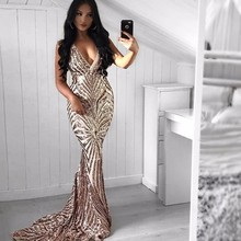 Summer Sequins Dress Women Sleeveless Elegant Evening Long Sexy Dress Spaghetti Strap Maxi Bodycon Party Dresses