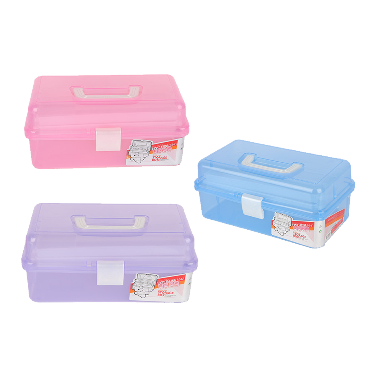 3 Layer Plastic Nail Art Container Makeup Cosmetic Organiser Office Desktop Make Up Jewelry Compartment Tool Box 3 Colors3 Layer Plastic Nail Art Container Makeup Cosmetic Organiser Office Desktop Make Up Jewelry Compartment Tool Box 3 Colors