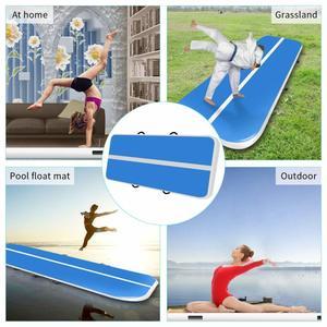 Image 5 - Nieuwe (4m5m6m) * 2 m * 0.2 m Opblaasbare Gymnastiek Airtrack Tumbling Air Track Floor Trampoline Voor Thuisgebruik/training/ cheerleading/strand