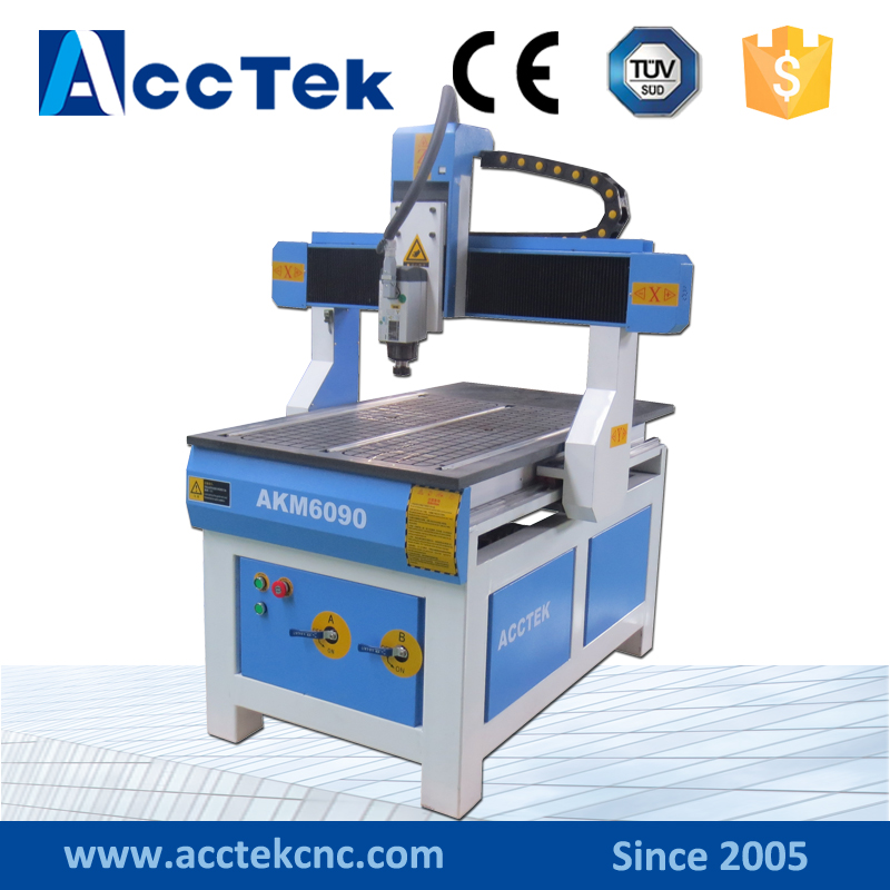 Mini CNC machineAKM6090/CNC 6090/kit CNC/CNC routeur AKM6090/graveur/routeur en bois/coupe-CNC 1.5KW broche refroidie à l'eau